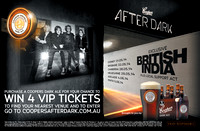 British India Sounds After Dark Tour Posters, April '14