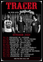"Tracer ""Black Stone Cherry"" European Tour Poster, October '14"